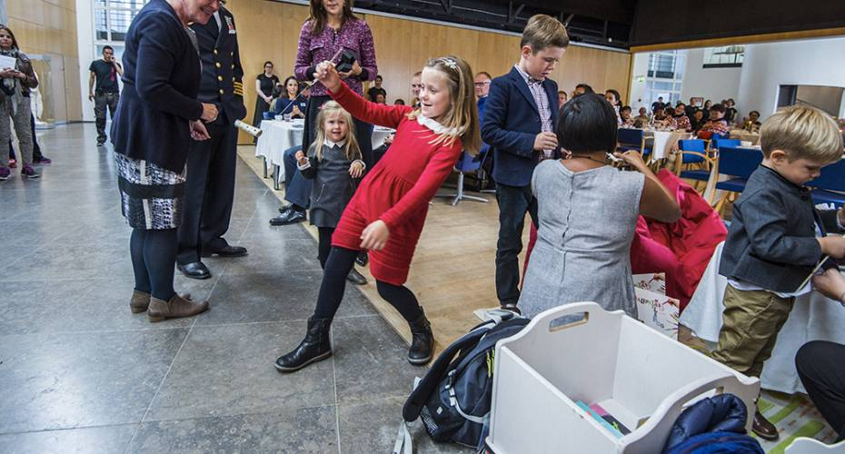 Kronprinsfamilien i Nuuk, Katuaq, kaffemik, Isabella, Kendame
