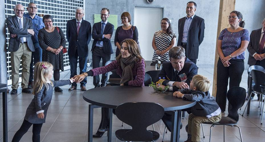 Kronprinsfamilien i Nuuk, Ilimmarfik, Minik og Ivalo Fonden