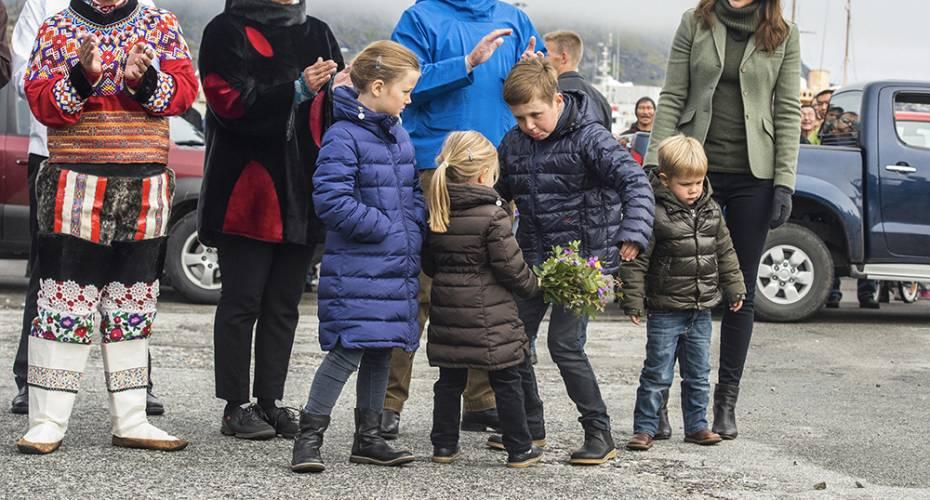 Kronprinsfamilien, Aleqa Hammond, Debora Kleist, Nanortalik