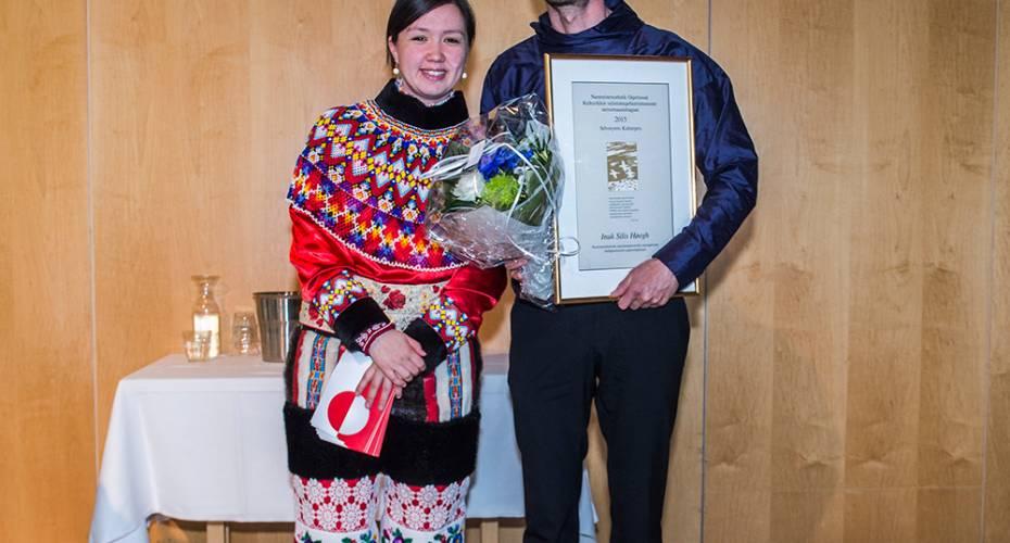 Nivi Olsen, Inuk Silis Høegh, Kulturpris 2015, Nationadalgen