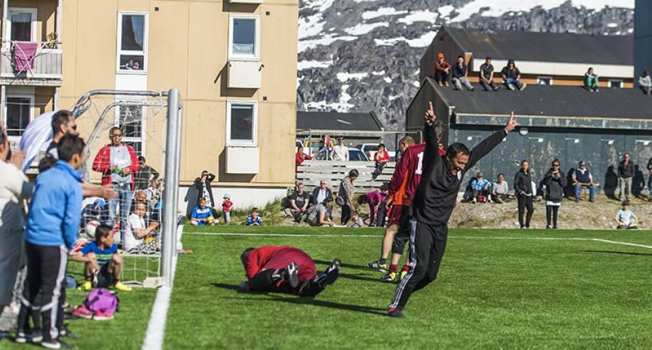 Kunstgæsbane i Nuuk