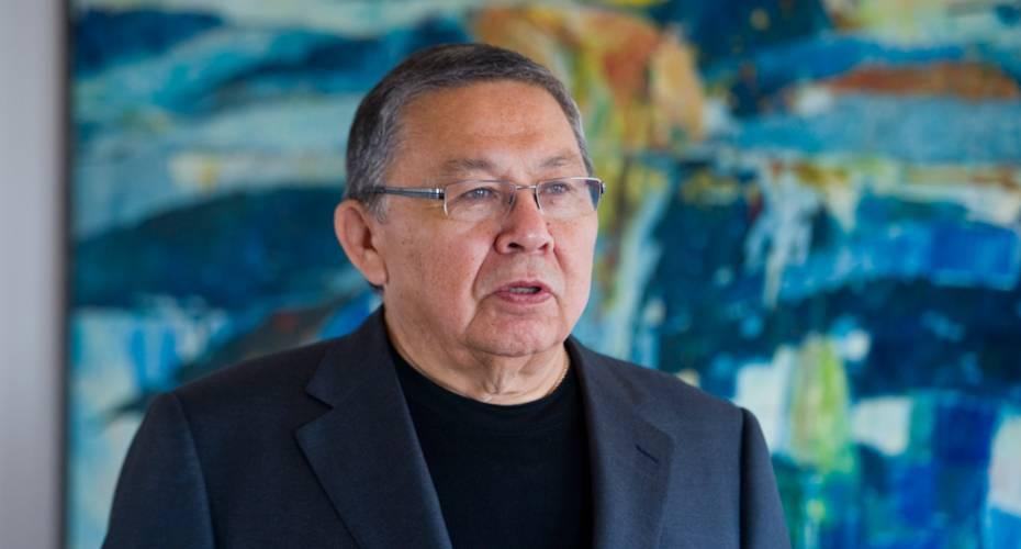 Lars-Emil Johansen, formand for Inatsisartut