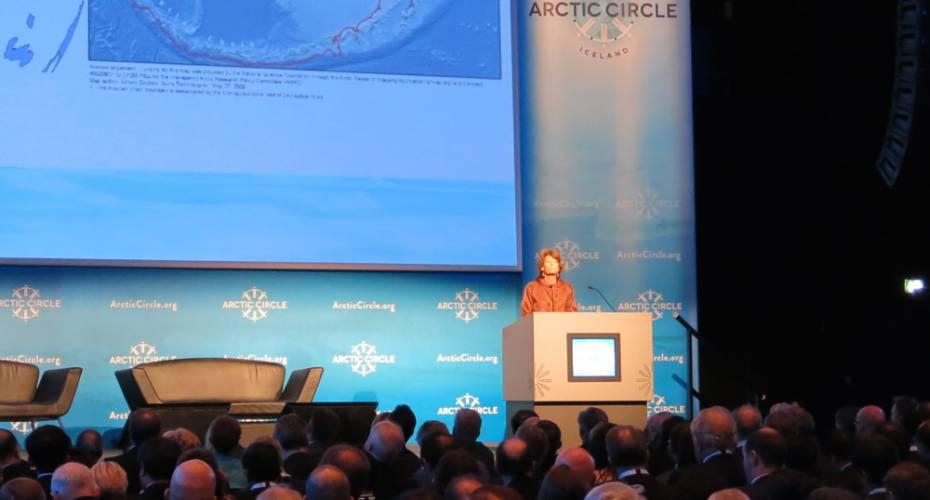 Senator, Lisa Murkowski, Alaska, Arctic Circle 2014
