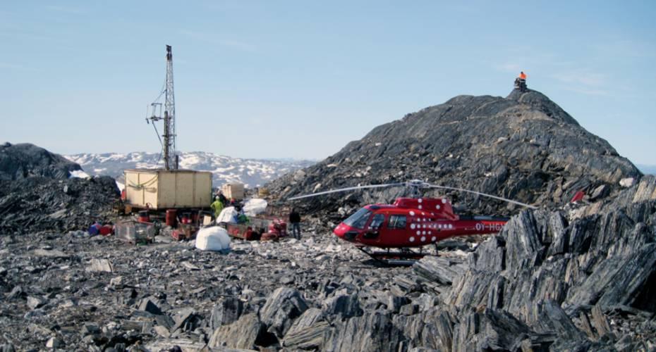 Råstoffer, mineindustri, efterforskning