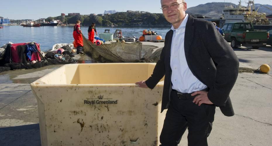 Det går godt for virksomheden Royal Greenland og adm. direktør Mikael Thinghuus