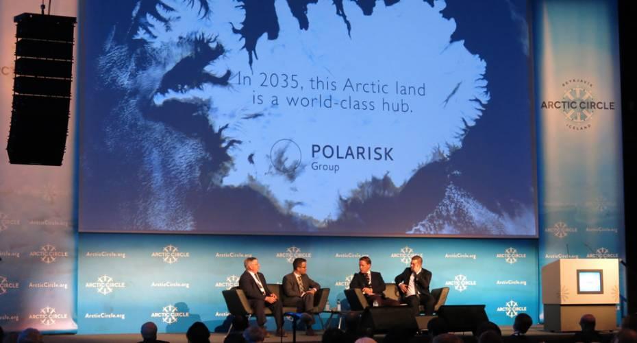 Mikå Mered, Polarisk,rapport,The Arctic 2035, Arctic Circle 2014