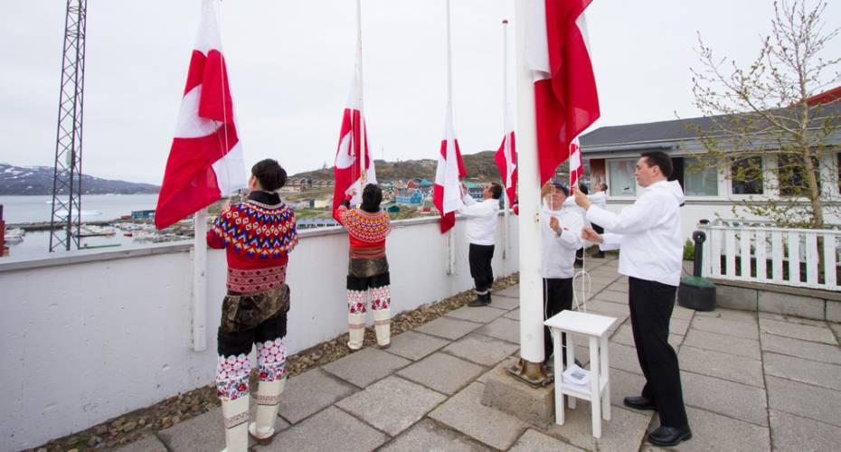 Nationaldag, Qaqortoq, Jørgen wæver Johansen, Hendrik Nielsen