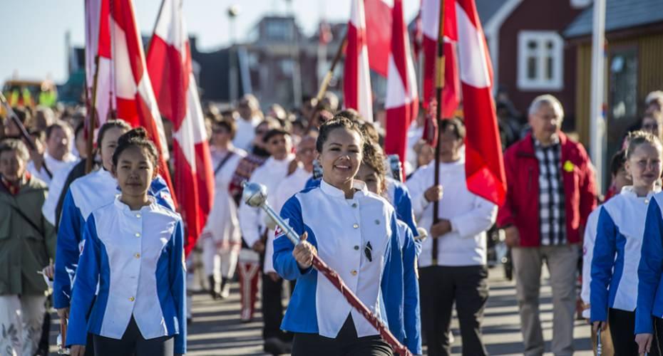 Nuuk Byorkester, Nationaldag, Nuuk, 2015