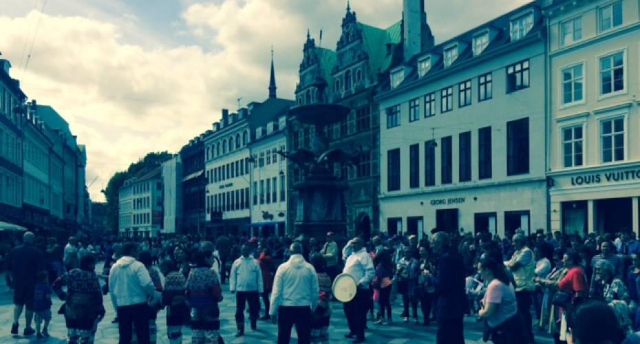 Optog, Storkespringvandet, nationaldagen, København , 2015