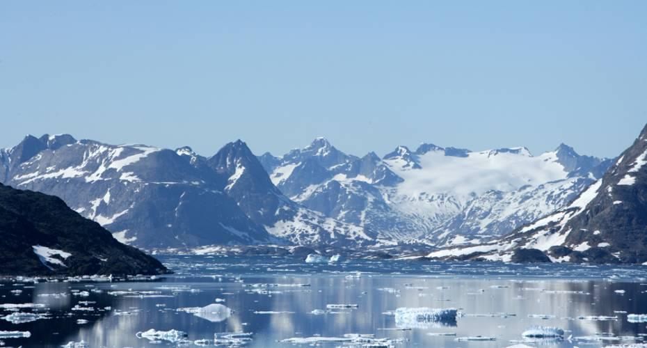 Østgrønland, Kulusuk, bjerge