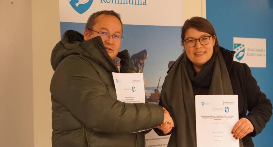 Samarbejdsaftaler om NAKUUSA projektet