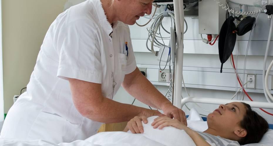 Patient, sygeplejerske