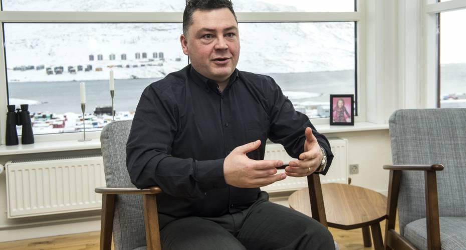 Pele Broberg er formand i den nye iværksætterforening Sakkut, der vil sikre nye erhvervsfolks overlevelse.