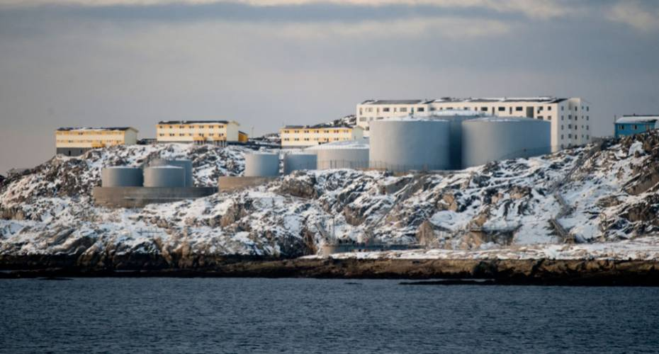 Polar Oil, tankanlæg, Nuuk, polaroil