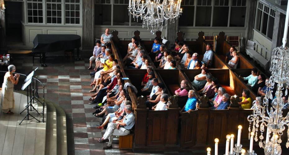Christians Kirken, publikum