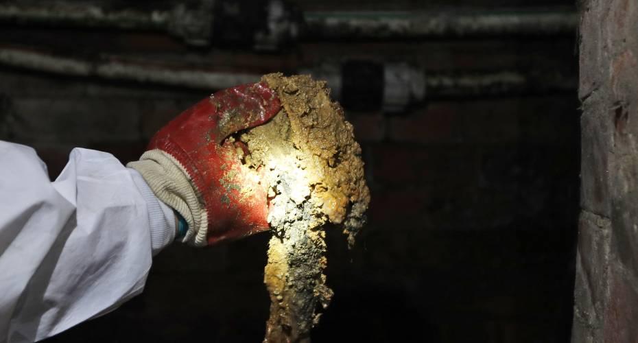 130 ton tungt fedtbjerg er fjernet fra London-kloak
