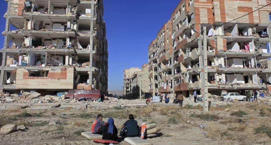 Jordskælv i Iran