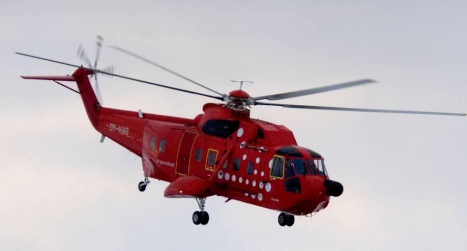 S-61, Air Greenland, Aasiaat
