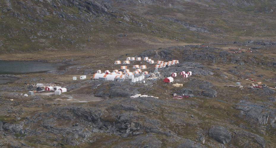 mineral kendt fra sydgrønland