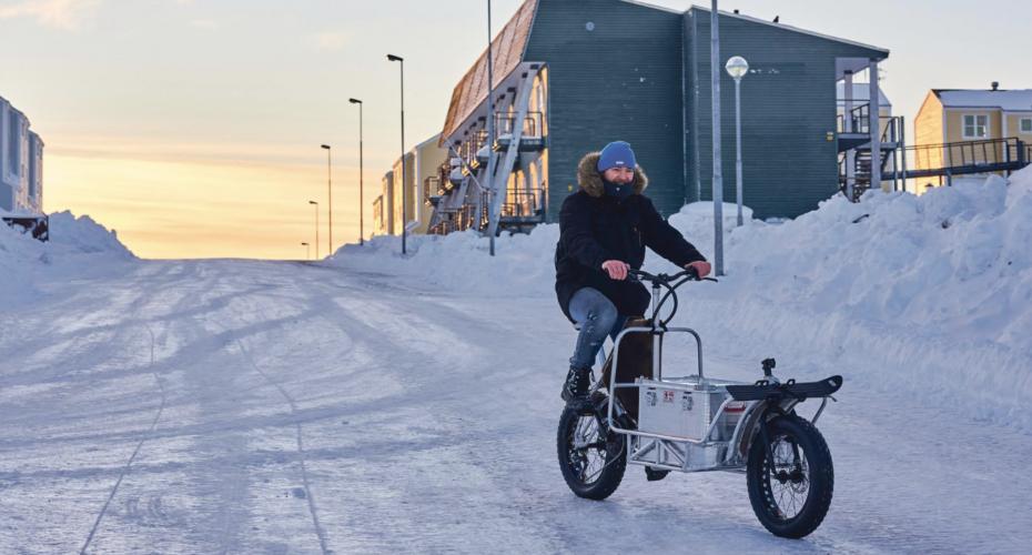 eldrevet grønlandsk cykel
