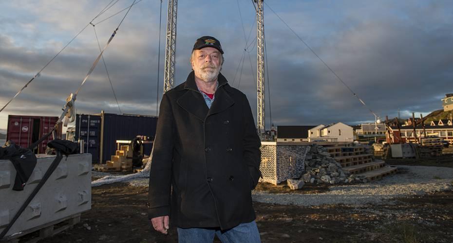 Svenn Syrin, teaterdirektør, Grønlands Nationalteater