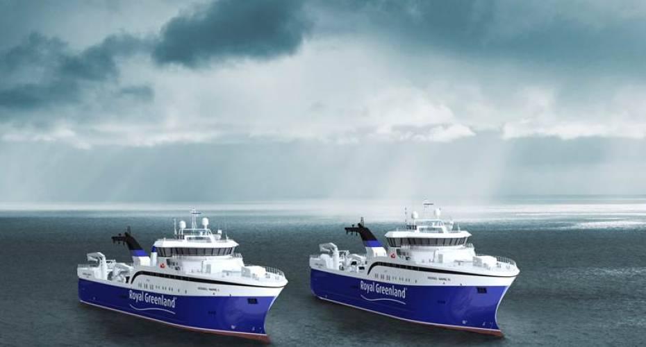 De to nye trawlere er seneste skud på Royal Greenlands indkøbsliste og er den største investering i nyere tid