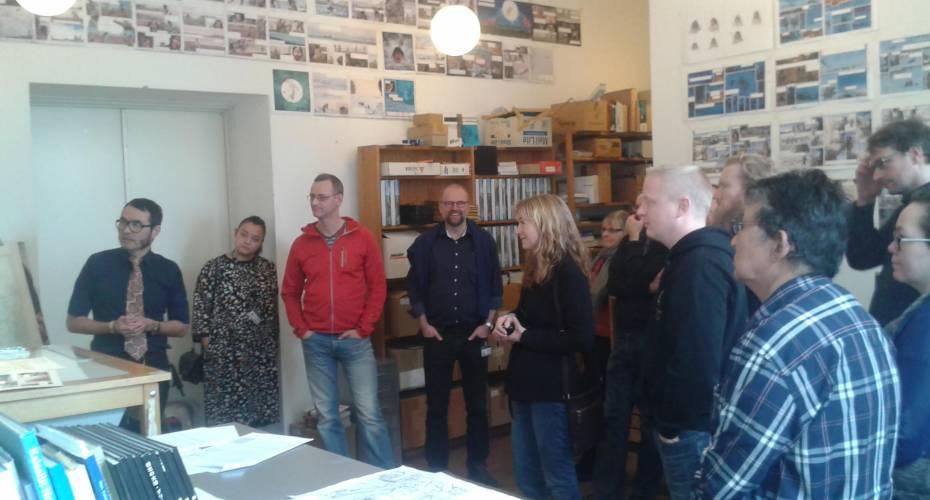 Besøg på Nationalmuseet og Nuka Godtfredsens tegneværksted