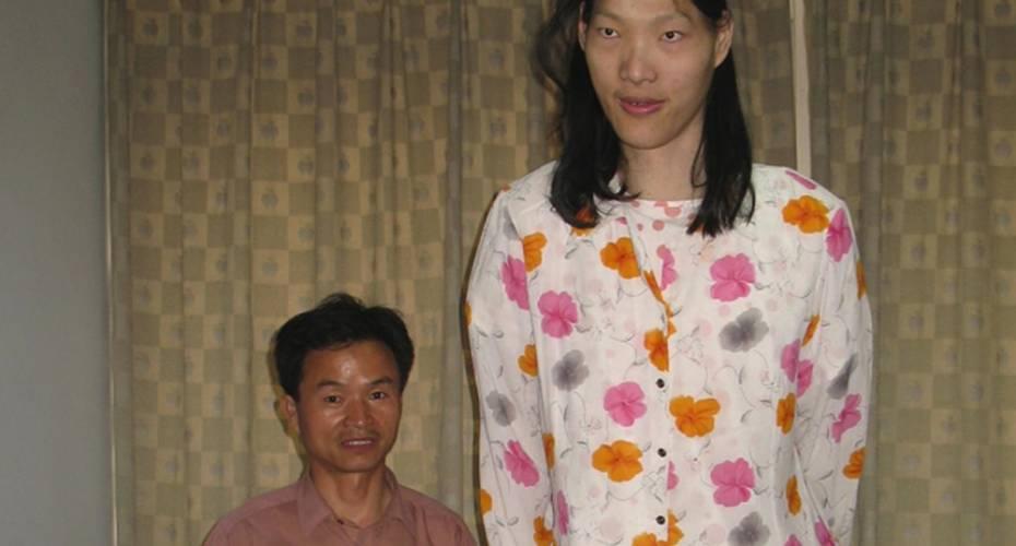 verdens højeste kvinde nogensinde