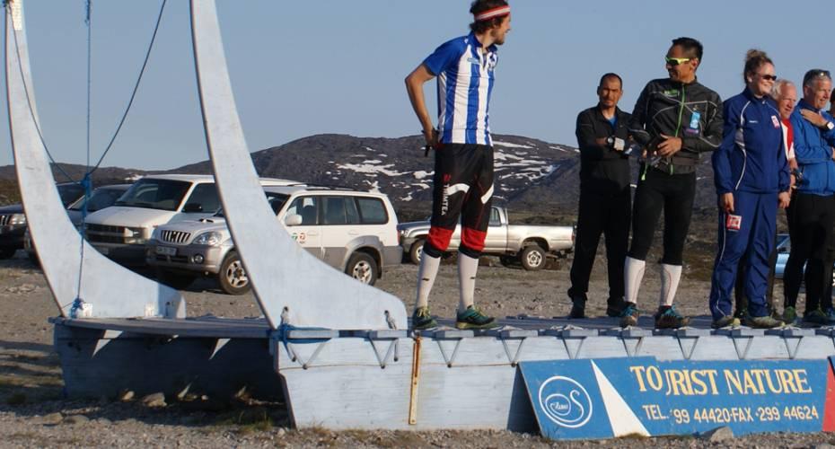AMO, Arctic Midnight Orienteering, Ilulissat, Frederik Petersen, Christian Nielsen